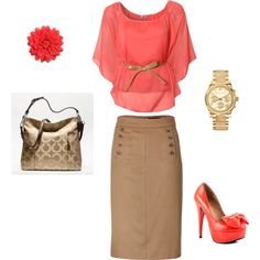 A fashion look from November 2012 featuring WalG blouses, Marc by Marc Jacobs skirts and Penny Loves Kenny pumps. Browse and shop related looks.
