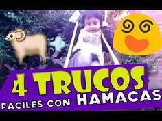 4 trucos sencillos con hamacas para niños / hamock tricks for kids