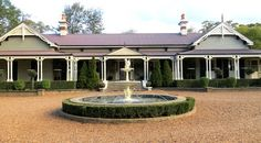 The beautiful Gabbinbar Homestead near Toowoomba in Queensland. This was book research, honestly it was.