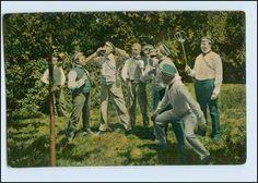 A7374 Studenten Heidelberg Bierduell Schöne AK CA 1910 Studentika | eBay
