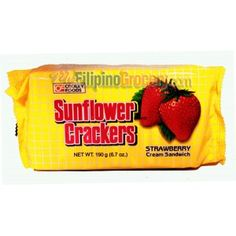 Sunflower Crackers. Those can get addicting