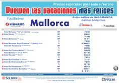 3ªEdición Las vacaciones mas felices. Hoteles en Mallorca salidas desde Salamanca - http://zocotours.com/3aedicion-las-vacaciones-mas-felices-hoteles-en-mallorca-salidas-desde-salamanca/