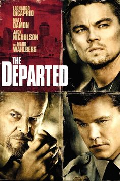 The Departed (2006) R | 2h 31min | Crime, Drama, Thriller | 6 October 2006 (USA)  The Departed Poster An undercover cop and a mole in the police attempt to identify each other while infiltrating an Irish gang in South Boston. Director: Martin Scorsese Writers: William Monahan (screenplay), Alan Mak | Stars: Leonardo DiCaprio, Matt Damon, Jack Nicholson