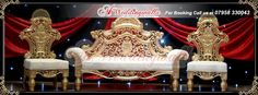 A1 Weddingwalla offer royal style wedding stages for wedding, reception, engagement and many more special occasion. For booking call us at 07958 330043 or visit http://www.a1ww.co.uk. #Wedding #Royal #Marriage #StageDecoration #Stages #receptionstage