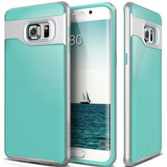 Amazon.com: Galaxy S6 Edge Plus case, Caseology® [Wavelength Series] [Coral Pink] Textured Pattern Grip Cover [Shock Proof] for Samsung Galaxy S6 Edge Plus: Cell Phones & Accessories