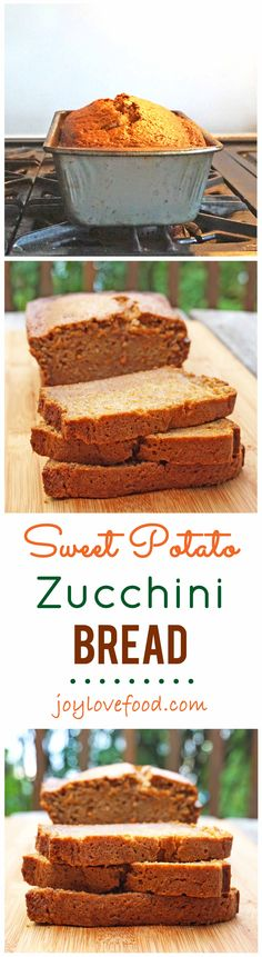Sweet Potato Zucchini Bread
