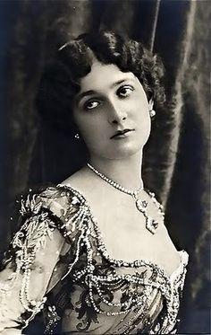 LA IMAGEN DEL SIGLO.: Divas de la Belle époque. LINA CAVALIERI IV