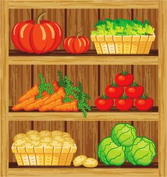 Find supermarket shelf stock images in HD and millions of other royalty-free stock photos, illustrations and vectors in the Shutterstock collection. Thousands of new, high-quality pictures added every day. Paper Doll House, Paper Dolls, Supermarket Shelves, Food Clipart, School Murals, Play Food, Fruit And Veg, Kids Cards, Vector Design