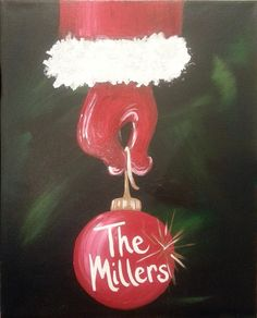 christmas paint and sip ideas - - Image Search Results Christmas Signs, Christmas Art, Christmas Projects, Holiday Crafts, Christmas Decorations, Christmas Ideas, Winter Painting, Diy Painting, Image Painting