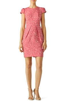 Rent Rosette Envelope Dress by Carmen Marc Valvo for $70 - $85 only at Rent the Runway.