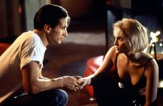 On-Screen Couples Who Didn't Get Along in Real Life - William Baldwin & Sharon Stone – 'Sliver' Few co-star feuds end in physical blows, but this one basically did. Baldwin and Stone played steamy lovers in the 1993 erotic thriller Sliver, but that chemistry wasn't the good kind. During one kissing scene, Stone apparently bit Baldwin's tongue so hard that he couldn't speak for a week. Talk about a bad day at work!