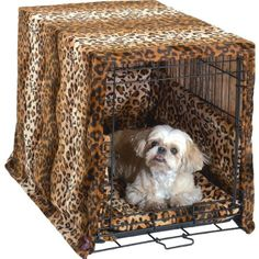 Pet Dreams Plush Cratewear Set Leopard Fits 30-Inch Crates, 3-Piece - http://petproduct.reviewsbrand.com/pet-dreams-plush-cratewear-set-leopard-fits-30-inch-crates-3-piece.html