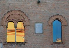 Windows of the Palazzo del Governatore
