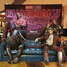 The Movie Theater Standee for GOTG Vol 2 looks amazing!   Thanks to @heroichollywood for the pic.   Download images at nomoremutants-com.tumblr.com  Key Film Dates   Logan: Mar 3 2017   Guardians of the Galaxy Vol. 2: May 5 2017   Spider-Man - Homecoming: Jul 7 2017   Thor: Ragnarok: Nov 3 2017   Black Panther: Feb 16 2018   The Avengers: Infinity War: May 4 2018   Ant-Man & The Wasp: Jul 6 2018   Captain Marvel: Mar 8 2019   The Avengers 4: May 3 2019  #marvelcomics #Comics #marvel…