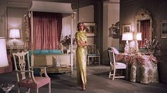 grace-kelly-high-society-bedroom - The Glam Pad Patricia Kelly, Grace Kelly, Old Hollywood Glamour, Hollywood Regency, Classic Hollywood, Vintage Glamour, Hollywood Stars, High Society, Glam Bedroom