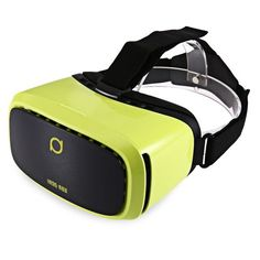 Professional Deepoon Kankan V2Y 3D VR Glasses 68 Degree Wide Angel Headset Movie Game Virtual Reality for 5 - 6 Inch Smartphone