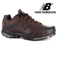 Last 9 x Mens New Balance Leather Hiking Trainers rrp£100 UK 7.5 - Now only £19.99