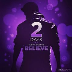 2 Days left!! #BelieveMovie #BieberChristmas