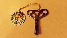 Vintage Original Schatz Quality Clock Key- Triberg Black Forest Cuckoo Clock Key