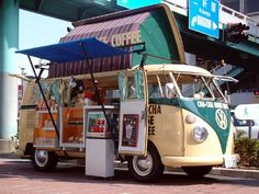 Coffee  and Kombi.  Two of my favourite things