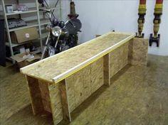 Tremendous 21 Best Motorbike Workbench Images Motorcycle Garage Dailytribune Chair Design For Home Dailytribuneorg