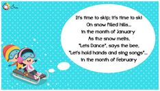 Months of the Year Rhymes for Kids - Ira Parenting List Of Months, Months In A Year, Rhymes Lyrics, Rhymes For Kids, Lets Dance, Songs To Sing, Singing, Parenting, Children