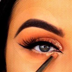 Popular Simple Gold Glam Eye Makeup Id. Best Face Makeup, Makeup Eye Looks, Eye Makeup, Best Face Products, Simple Makeup, Makeup Ideas, Latest Trends, Popular, Eyes