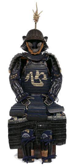 Kokoro Do Composite Gusoku. Mid to late Edo Period, 18th/19th century