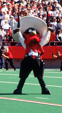 Texas Tech Raider Red-One of the many traditions at Texas Tech!