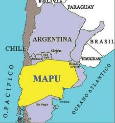 mapa de Mapuches Indigenous Tribes, Education Reform, Light And Shadow, South America, Tatoos, Atlanta, Teaching, Maps, Southern