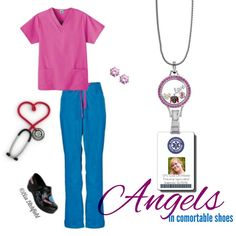 Angels in comfortable shoes fashion with Origami Owl