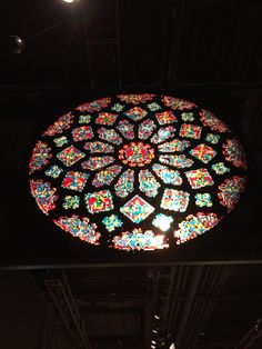 The awesome Northern Rose window in/at Chartres in awesome Lego art at the Franklin Institute in Philadelphia Pa Sunday 8-16-15