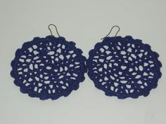 SERPENTINA ACCESORIOS: ACCESORIOS FLAMENCA 1ª PARTE (LOS PENDIENTES) Serpentina, Crochet Earrings, Crochet Jewellery, Free Crochet, Free Pattern, Diy, Jewelry, Manzanita, Bikini