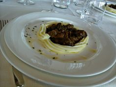 Wild boar dish @Boris Gombarcik Brufa SpaResort SPA Resort and Restaurant in Torgiano, Umbria @Nick Strada Cantico