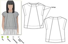 Style Arc Sewing Pattern McKenzie Set Discounted Bundle - Click for Other Sizes Available Sizes 04-16