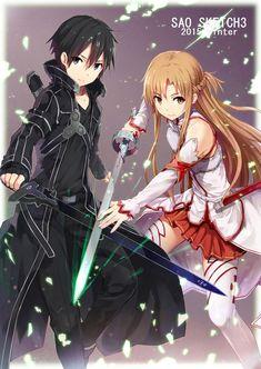 Wallpaper,Anime, Sword Art Online, Kirito e Asuna Manga Anime, Sao Anime, Film Anime, Otaku Anime, Manga Girl, Sword Art Online Kirito, Kirito Sword, Schwertkunst Online, Online Anime