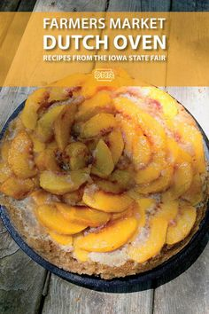 Camping doesn't mean you have to leave the healthy and fresh ingredients at home! Dutch oven recipes straight from the farmers market! Iowa State Fair, Dutch Oven Recipes, Wild Edibles, Natural Resources, Farmers Market, Good Food, Outdoors, Camping, Fresh