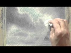 Professional Artist Peter Woolley shows you just one way to use his unique Wonderbrush as he adds the sun's rays breaking through the clouds in to a watercol. Watercolor Clouds, Watercolor Video, Watercolour Tutorials, Watercolor Techniques, Painting Techniques, Watercolor Paintings, Painting Videos, Painting Lessons, Art Lessons