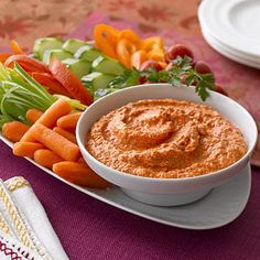 Party Recipes: Roasted Red Pepper Dip