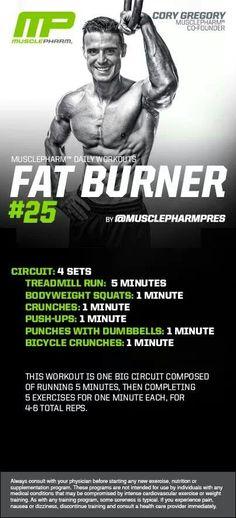 MusclePharm Fat Burner#25