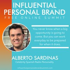 Alberto Sardiñas is a celebrity Spanish radio host, author of multiple books and keynote speaker. With a social media following of close to 2.8 million fans, people all over the world look to Alberto for advice and inspiration on how they can achieve their dreams. Companies like The Home Depot, Walmart, Verizon, Delta Airlines, Bank of America and Starbucks have trusted Alberto to get their message out to the world. Miss Nevada, Building A Personal Brand, Senior Advisor, Radio Personality, Brand Strategist, Ocean Drive, Keynote Speakers, Instagram Influencer