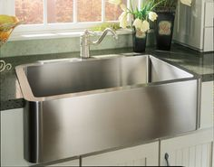 Love this stainless sink