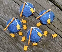 Going Fishin' Cupcakes