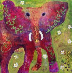 Dream Elephant Painting