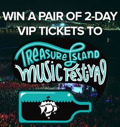 CratePlayer is giving away a pair of 2-Day VIP Passes to Treasure Island Music Festival 2013, which features acts from Atoms For Peace, Beck, Animal Collective, and more! [Click image for full contest details.]  #timf #treasureisland #music #treasureislandmusicfestival #timfsf #giveaway #contest #bayarea #sanfrancisco #sf
