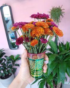 """31 curtidas, 1 comentários - Stephani Demczuk (@stephanidemczuk) no Instagram: """"Sobre pequenas coisas e grandes alegrias."""" Glass Vase, 1, Plants, Instagram, Home Decor, Little Things, Homemade Home Decor, Plant, Interior Design"""