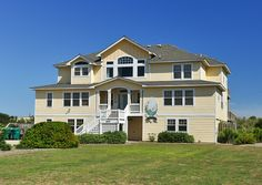 12 BR; $11250 for 2018 Corolla Outer Banks, Oceanfront Vacation Rentals, Pine Island, Outer Banks Vacation, Large Homes, House Design, Mansions, House Styles, Bedrooms