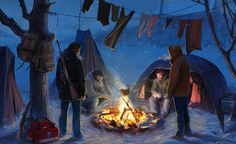 camp by 5ofnovember on DeviantArt