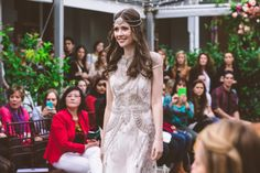Blow Dry Bar's Signature Blow Dry is the perfect bridal hair for brides with long flowing hair.  Blow Dry Bar the Official Hair Partner of One Fine Day, Melbourne.