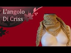 Sciarpa all'uncinetto triangolare in cachemire - Bufanda de ganchillo - crochet easy scarf - YouTube